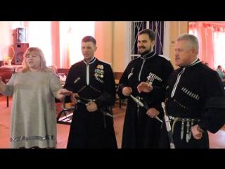 Народный фольклорный ансамбль казачьей песни