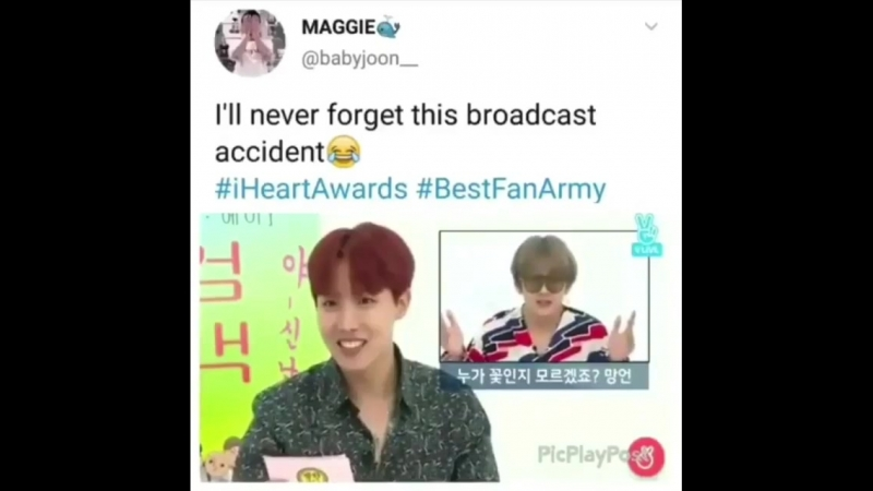 BTS - I`ll never forget this broadcast accident
