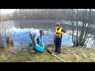 Испытания самодельного каяка /Tests of homemade kayak