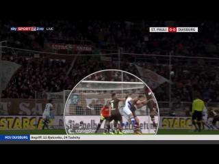 FC St. Pauli - MSV Duisburg - 2-2 (0-1) (10.12.2017)