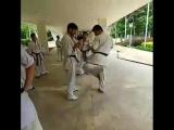 Набивка в Кёкусинкай карате от Иранских бойцов. Подготовка бойца. http://vk.com/oyama_mas