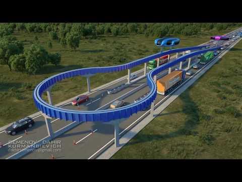 Манёвренность транспорта второго уровня.