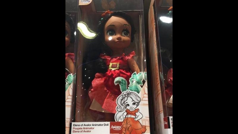 NEW ELENA ANIMATORS DOLL - Disney Store Shopping