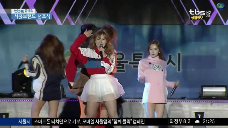 151028 Red Velvet - Huff n Puff @ Seoul Brand Proclamation Ceremony