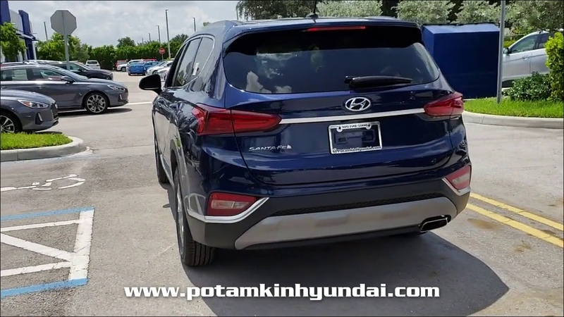 NEW 2019 HYUNDAI SANTA FE SE 2.4L AUTO FWD at Potamkin Hyundai NEW F008030