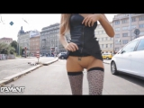 Maria Rya Hot Russian Slut Mini Dress Stockings Ass Pussy Tits Русская Шлюха Мария Рябушкина в Мини Платье Ножки в Чулках Сиськи