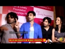 Barun Sobti Exclusive Interview Barun Sobti Sanaya Mohit Akash Dogra At The Fair Lovely Scholarship 13 March 2015