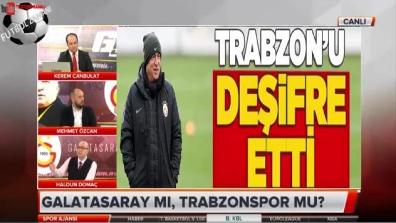 Galatasaray Spor Ajansı ⚽ Galatasaray - Trabzonspor Maçı Öncesi Haldun Domaç Yorumları 30 Mart 2018