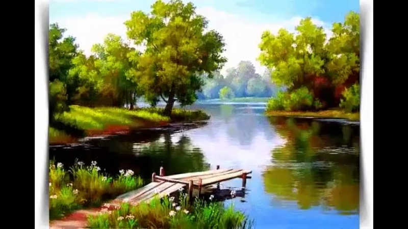 На воду любят все смотреть , на жизнь она похожа вроде... При этом надо бы учесть : река - течет ,а жизнь - проходит.