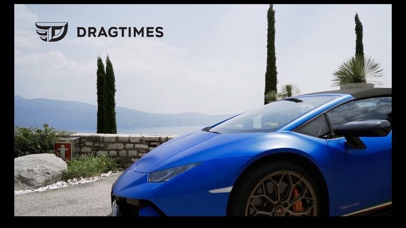 DT_POV. Lamborghini Huracán Performante Spyder. Озеро Гарда