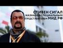 Стивен Сигал на посту спецпредставителя МИД РФ