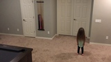 When little sister wants to dance!