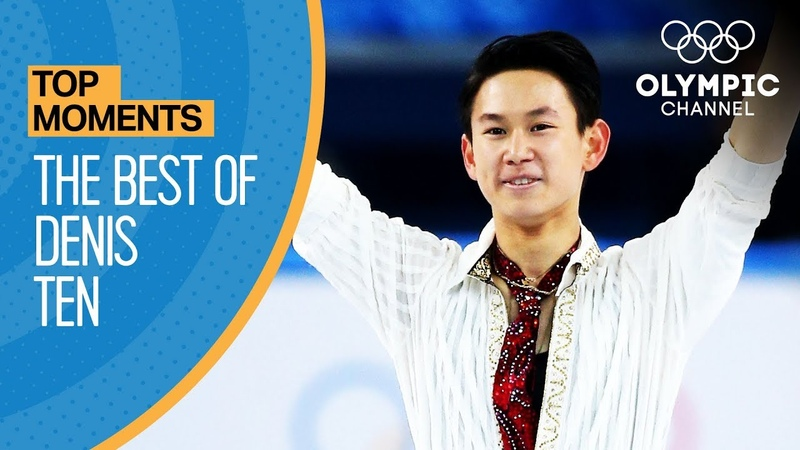 The Best of Denis Ten at the Olympic Games Top Moments