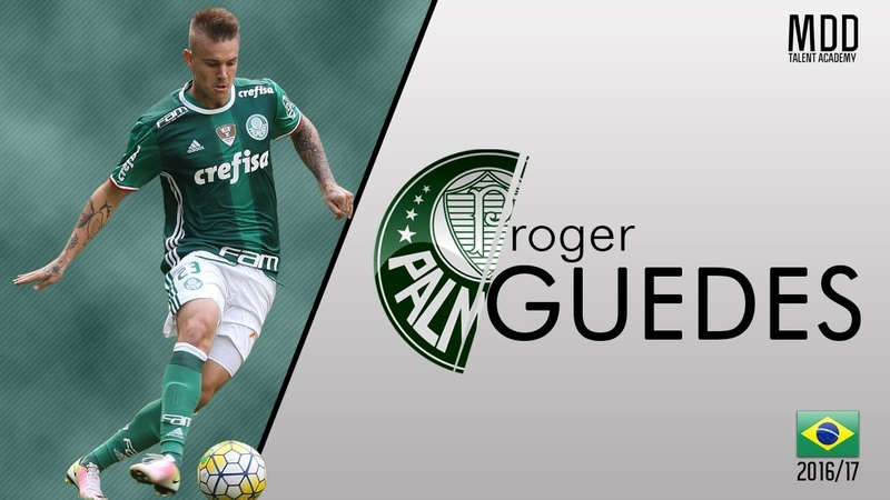 Roger Guedes | Palmeiras | Goals, Skills, Assists | 2016 - HD