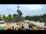Владимир Путин принял участие в праздничных мероприятиях по случаю 1030-летия крещения Руси