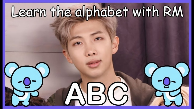 LEARN THE ALPHABET WITH BTS RM