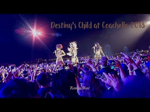 Destiny's Child Reunion at Coachella 2018
