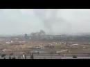 Сирийские самолёты поражают минометные расчёты боевиков в Восточной Гуте.