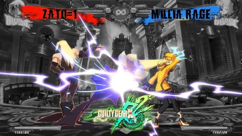 Guilty Gear Xrd Rev 2 Zato vs. Millia - A Combo Music Video (Still in the Dark)