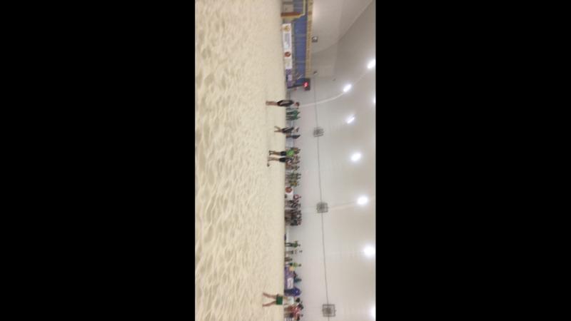 Первый песок. Турнир по пляжному регби