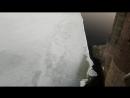 ШОК! Льдина ударилась об опоры моста в Петербурге! Она разруш