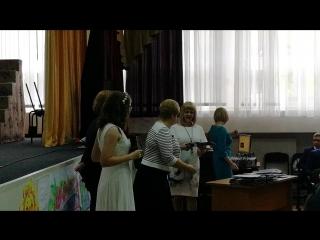 Вручение аттестата доченьке 23 06 2018