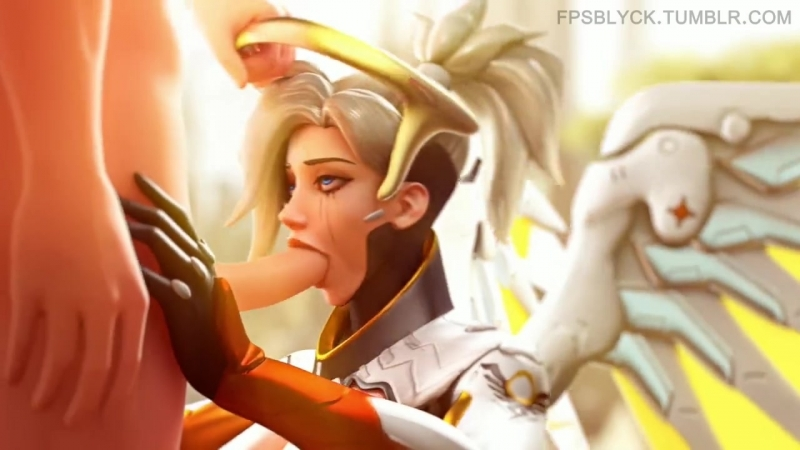 [Overwatch]-Mercy SPECIAL porn clip 18
