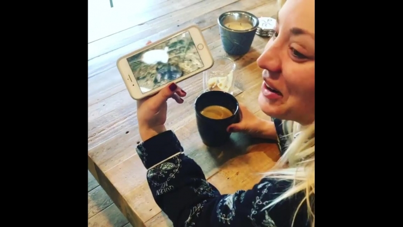 I watch a video about rabbits. (Kaley Cuoco)
