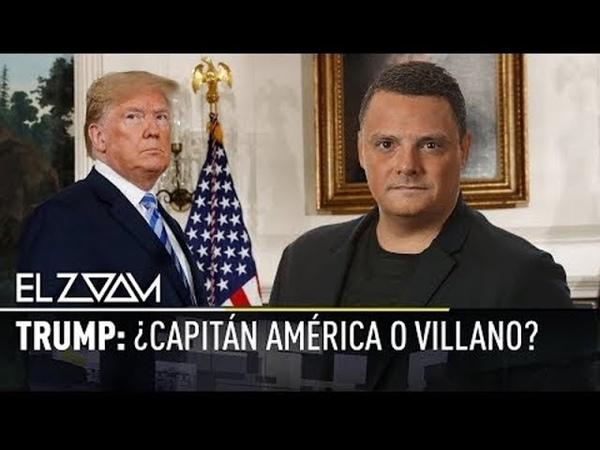 Vídeo El Zoom de RT Trump ¿Capitán América o Villano