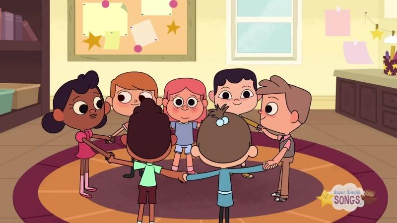 Make A Circle _ Preschool Song _ Super Simple Songs