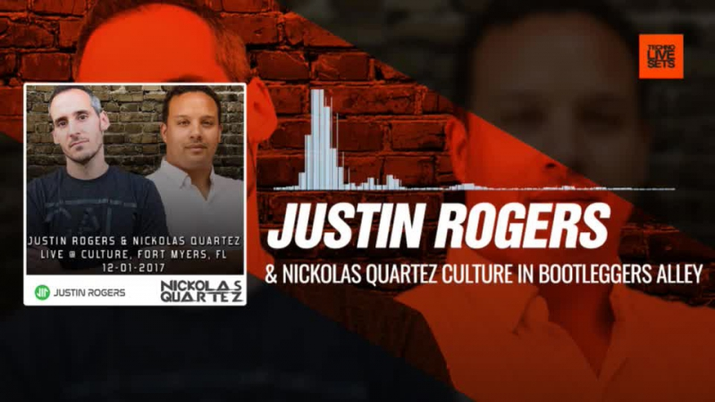 Justin Rogers @nickolasquartez - Culture In Bootleggers Alley 01-12-2017 Music Periscope Techno