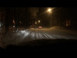 Chevrolet Tahoe Как нужно ездить по снегу ;)