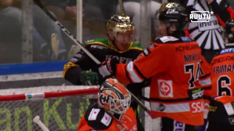 HPK - Ilves 1:2 (Обзор матча) Финский Хоккей╞╬═╡Suomen Jääkiekko
