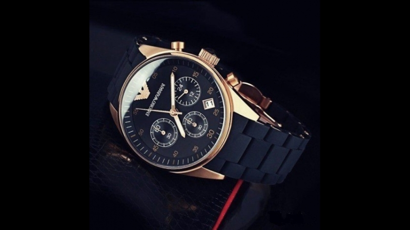 Комплект часы Emporio Armani и клатч Emporio Armani !
