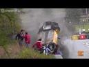 Самая удачная авария на гонках