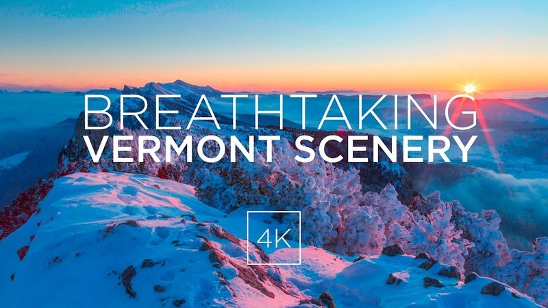 Breathtaking Vermont Scenery [4K Drone Footage]