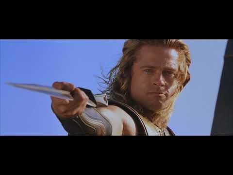 Ахиллес штурмует берег Троя Troy 2004