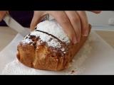 Домашний Кекс с Изюмом - Homemade Pie Recipe, English Subtitles
