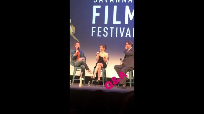 28 10 17 Саванна США Скриннинг фильма Цветок на кинофестивале SCAD Savannah Film Fest2