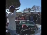 Kendrick Lamar served as the Grand Marshal at the Compton Christmas Parade.