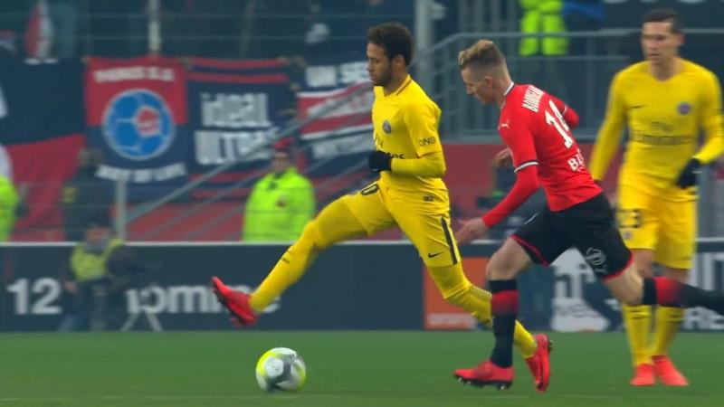 Neymar clips PSGBarcelona