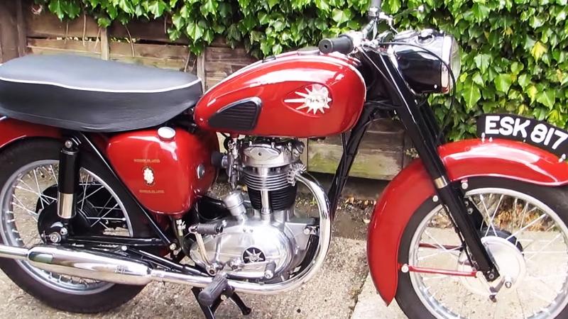 Мотоцикл BSA C15, 1961 года
