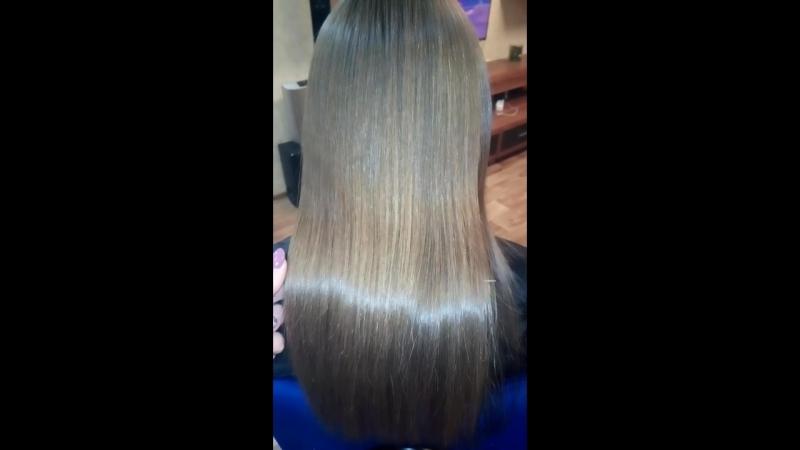 Коктель для восстановления волос Кератиновое выпрямление с ботоксом.👩👌