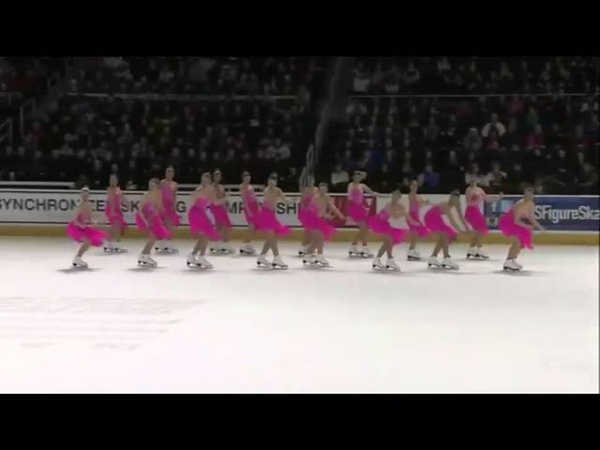 2015 US Synchro Champs FS3 Skyliners SC of New York