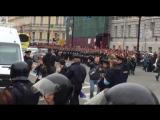 Задержание участника акции Навального в Петербурге