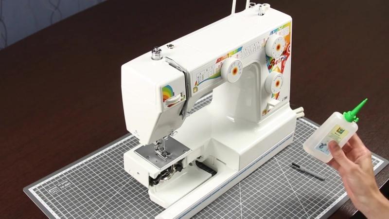 Чистка и смазка швейной машины Micron Retro