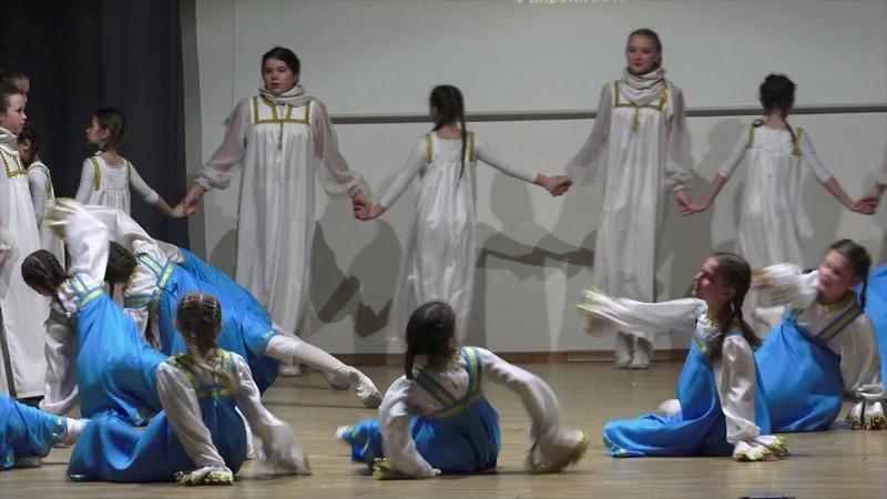 Золотая русь Ансамбль Реченька ДШИ им Гречанинова А Т