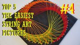 TOP 5 THE EASIEST STRING ART #4 TRIANGLE DIY TUTORIAL