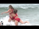 Life guard swimsuit catfight commercial
