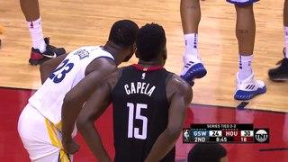 Clint Capela, Not In His Paint! #NBANews #NBA #Rockets